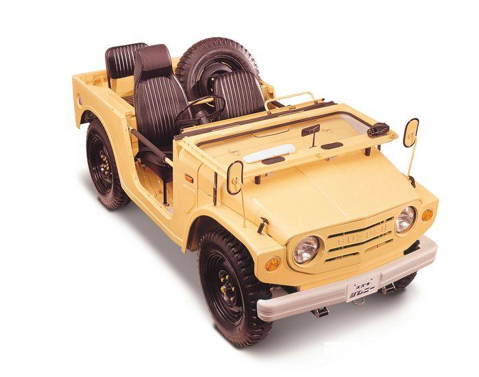 Suzuki Jimny 4x4 serie LJ10 del 1970