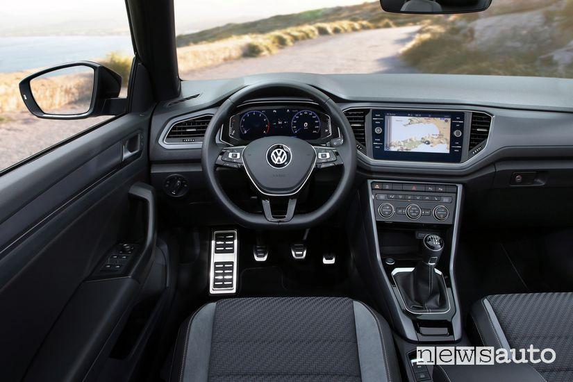 Plancia strumenti abitacolo Volkswagen T-Roc Cabriolet R-Line