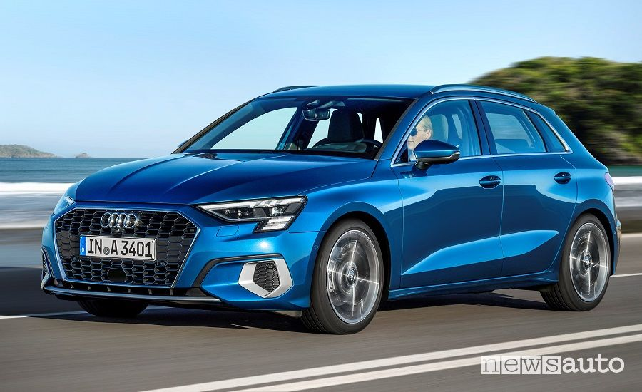 Audi A3 Sportback prezzi