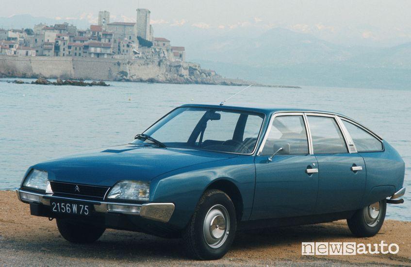 Citroën CX a con motore a benzina ad iniezione elettronica BOSCH