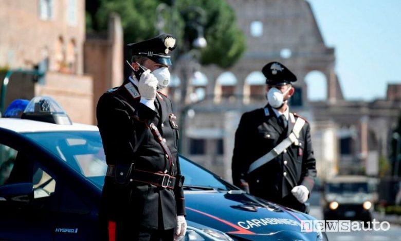 osti di blocco a Roma per Coronavirus