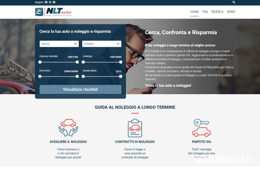 Home page NLT.market