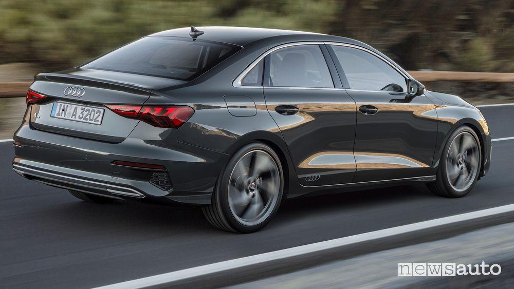 Audi A3 Sedan prezzi e allestimenti