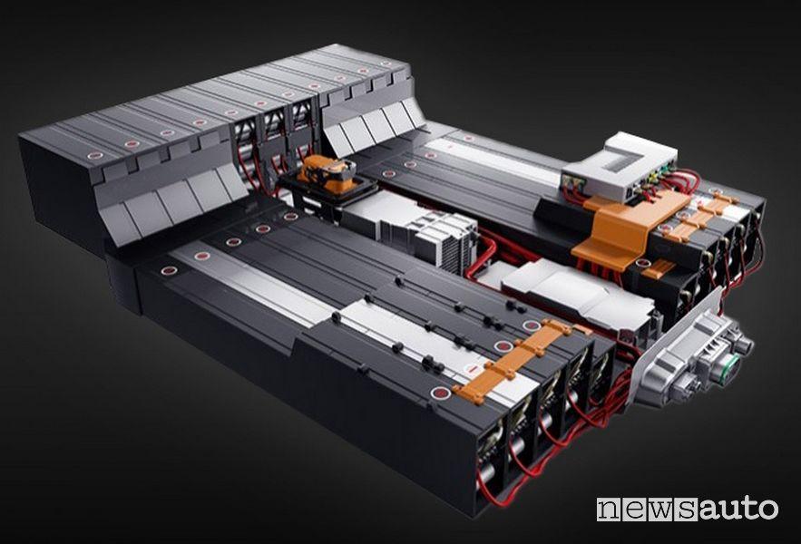 Batteria al litio DR Evo Electric