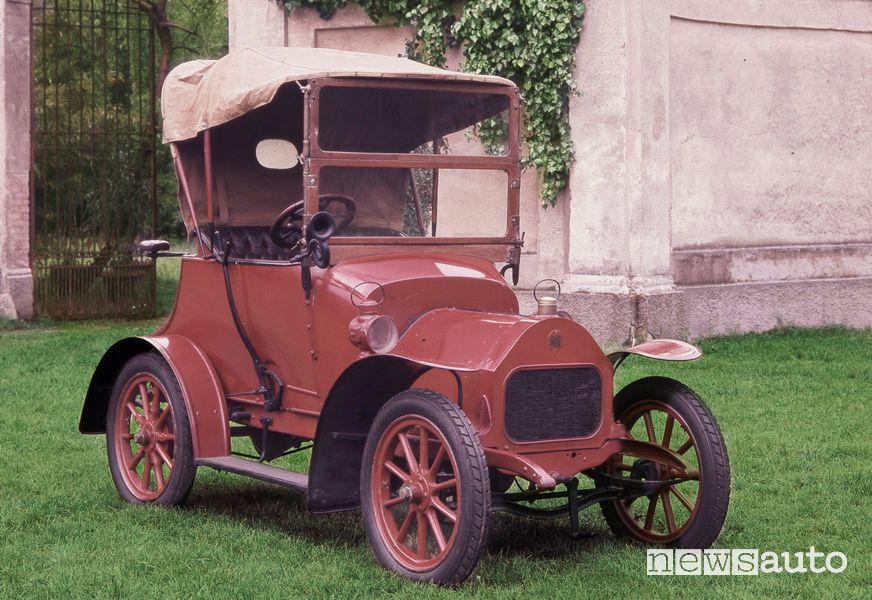 Storia Alfa Romeo la Darracq 8/10 HP del 1908
