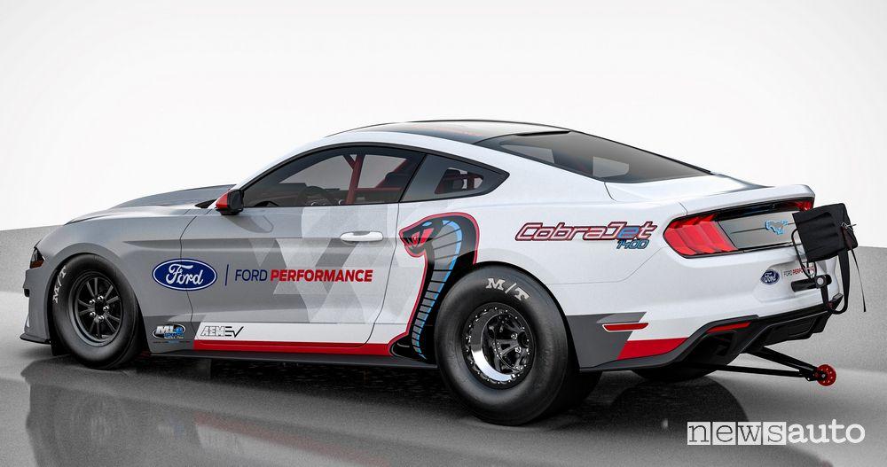 Ford Mustang Cobra Jet per gare d'accelerazione in elettrico