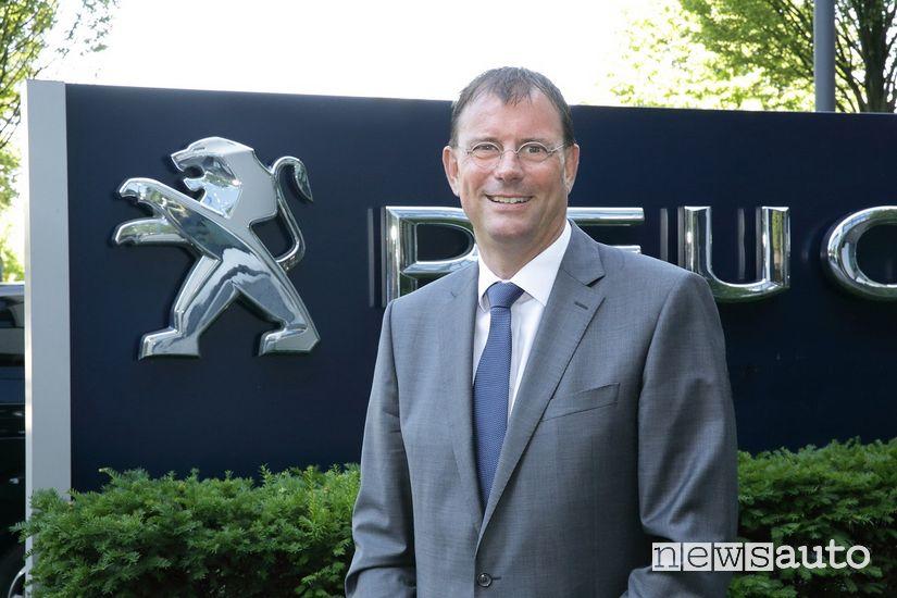 Haico van der Luyt, CEO di Peugeot Germania