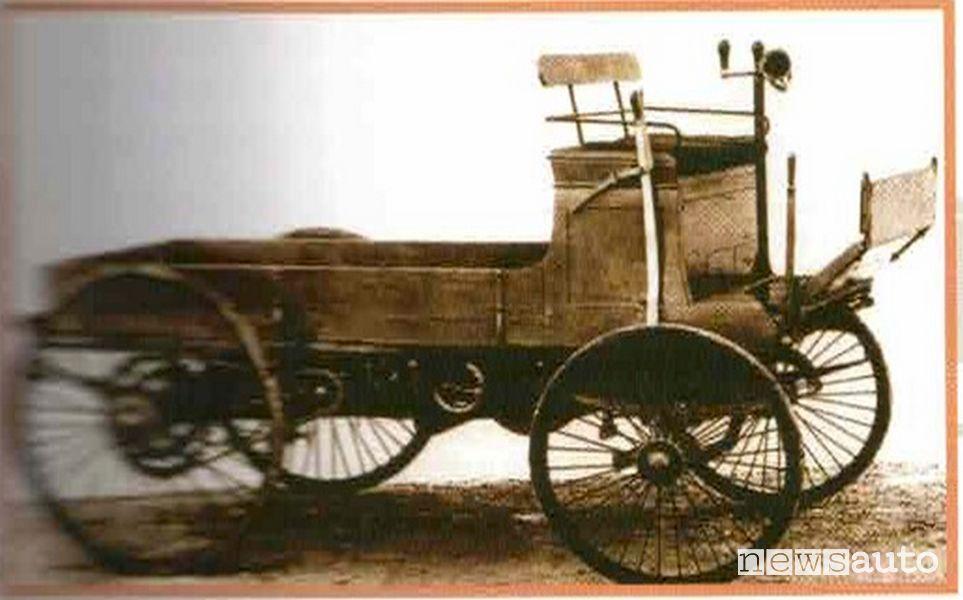 Peugeot Type 22, veicolo commerciale storico del 1900