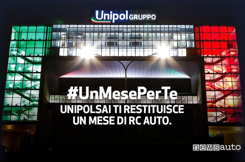 Rimborso polizza RC Auto #UnMesePerTe UnipolSai
