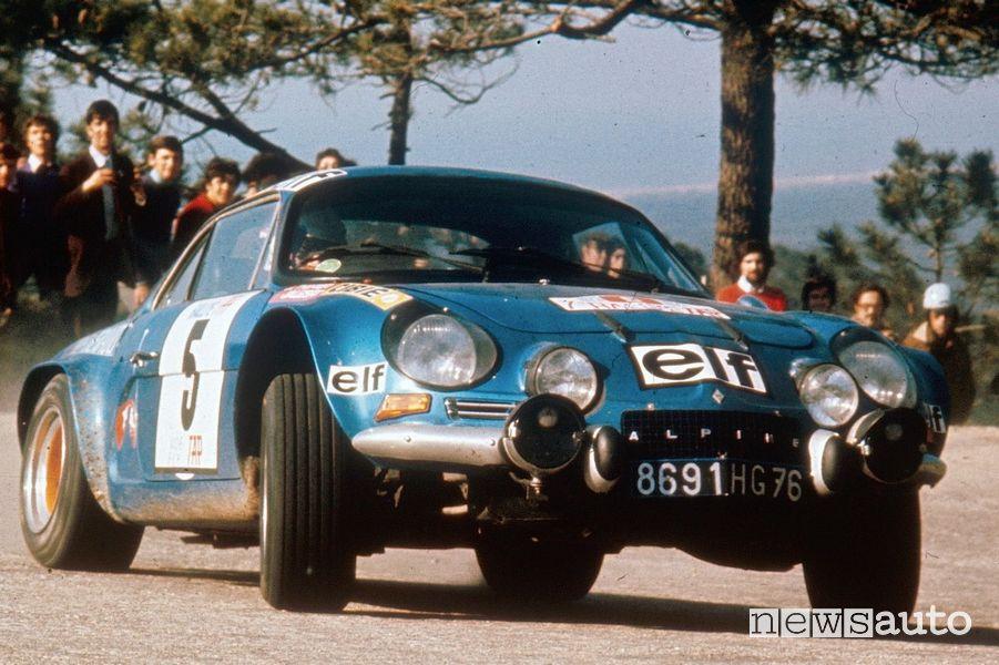 Alpine è Campione del Mondo Rally nel 1973