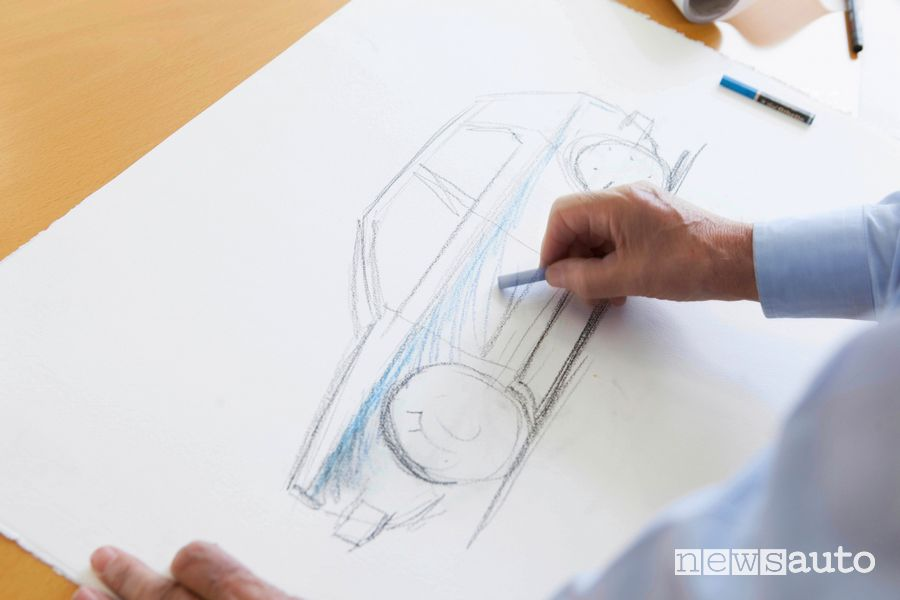 Design Volkswagen Golf Giugiaro
