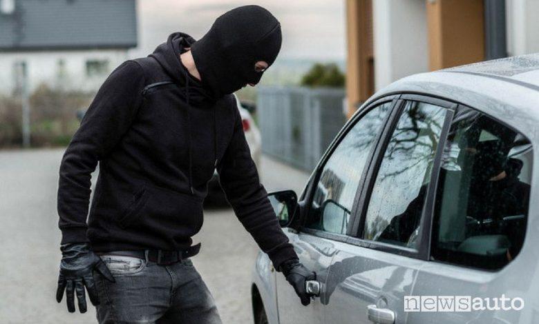 Furti auto, quali sono i veicoli più protetti dal'assicurazione