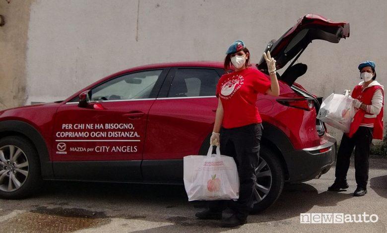 Donazioni Mazda per l'emergenza Covid-19