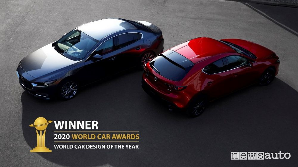Premio World Car Design of the Year 2020 alla Mazda3