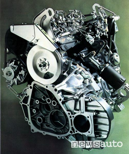 Motore diesel Citroën CX 2200 Diesel del 1976