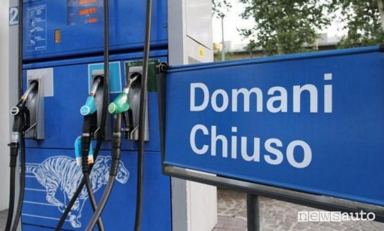 Sciopero benzinai a dicembre