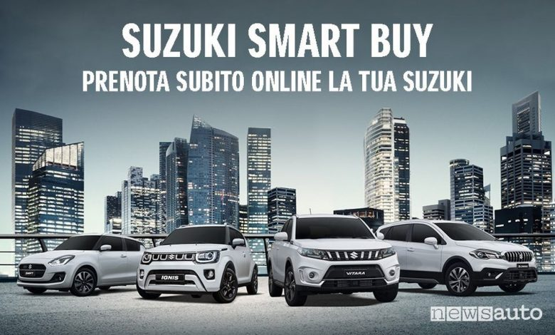 Acquisto auto on-line con il programma Suzuki Smart Buy web store