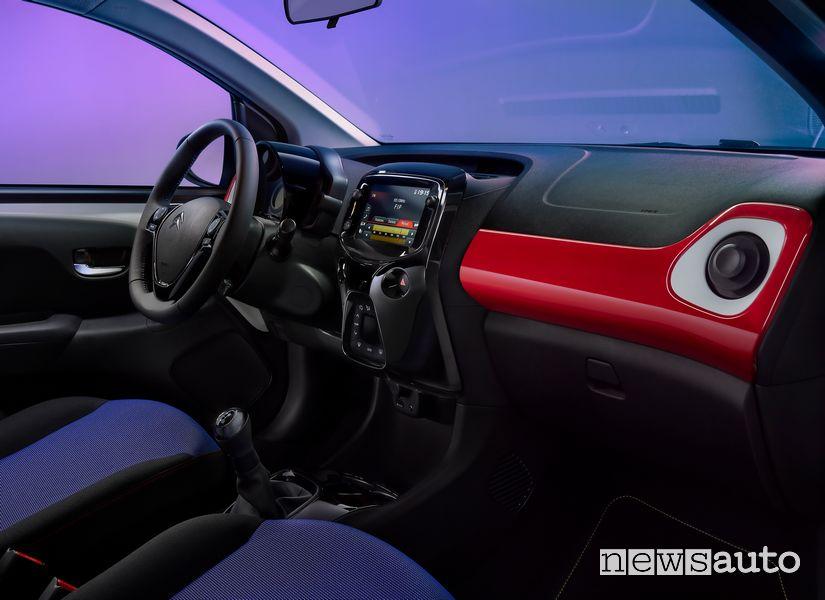 Plancia strumenti abitacolo Citroën C1 JCC+ serie speciale