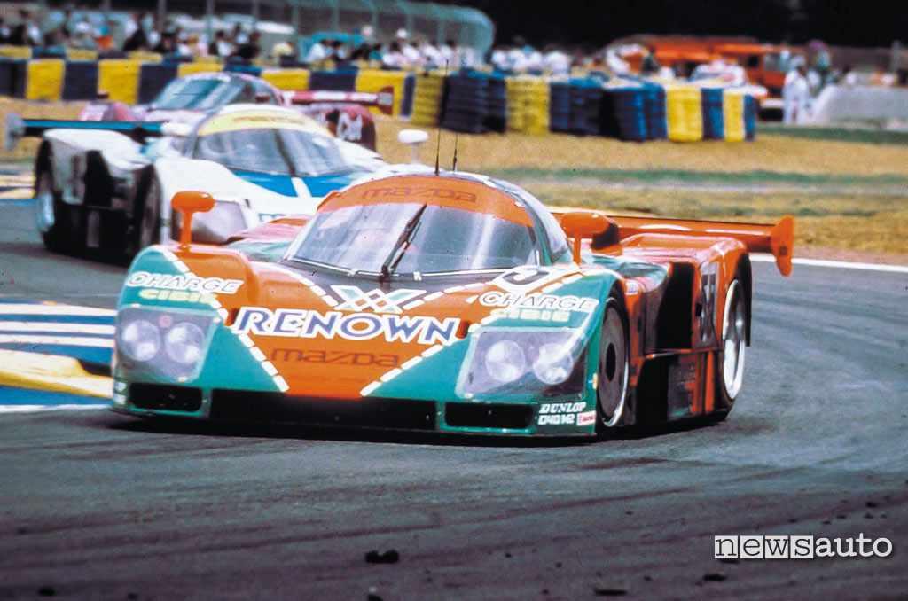 Mazda 787b vittoria Le Mans 1991