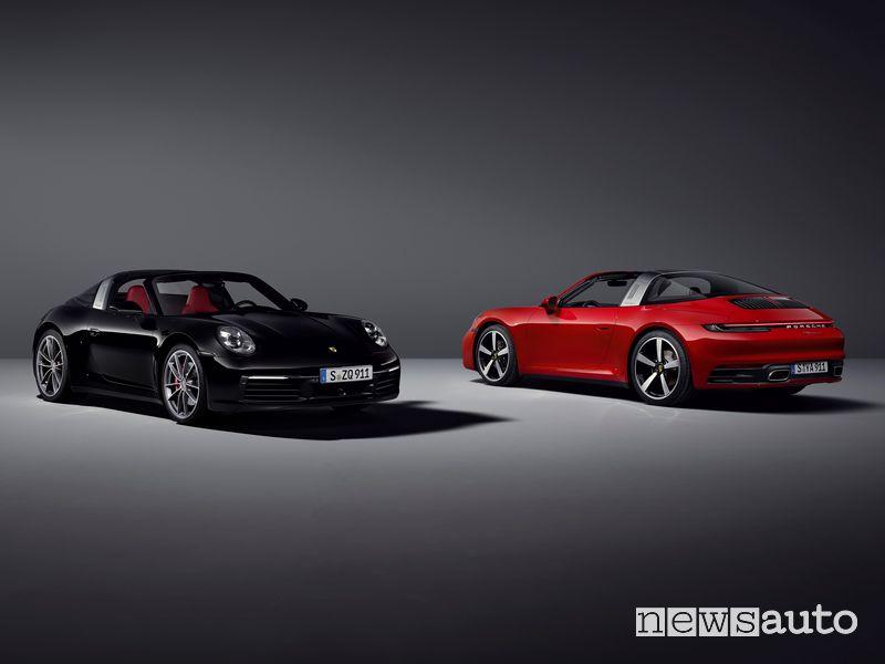 Porsche 911 Targa 4 S e 911 Targa 4