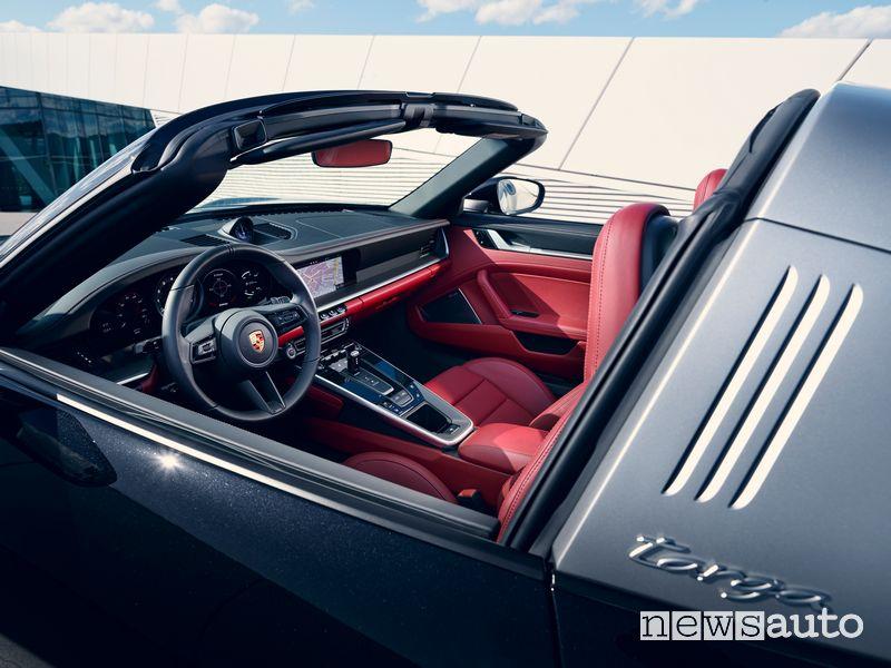Abitacolo Porsche 911 Targa 4S