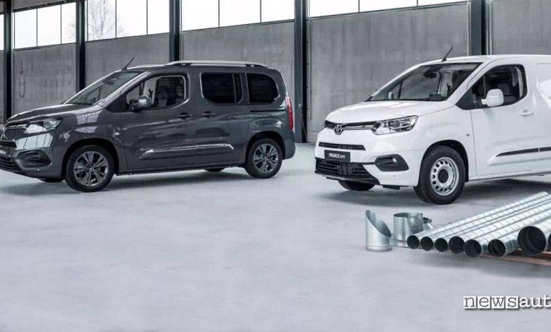 Toyota Proace City Van e Versomultispazio veicoli commerciali lcv