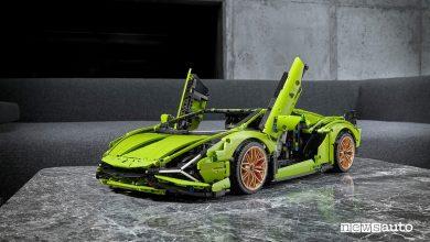 Photo of Lamborghini Siàn Lego, l'auto ibrida del Toro giocattolo