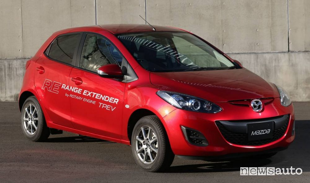 prototipo Mazda 2 EV Range Extender