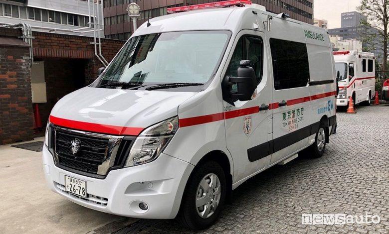 Ambulanza elettrica Nissan