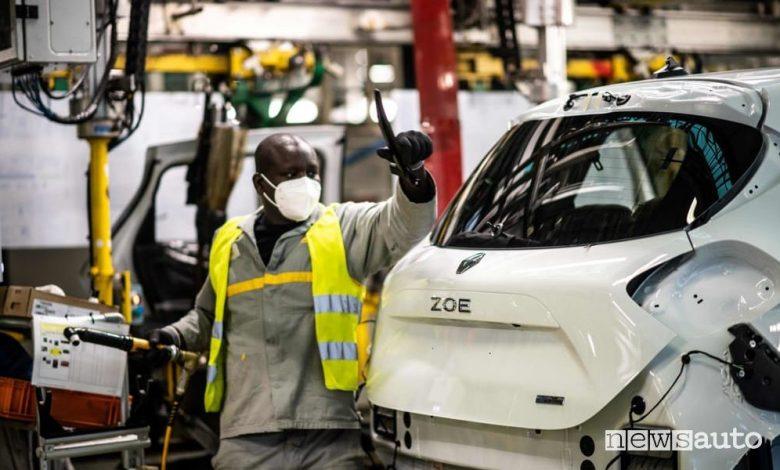 Tagli di posto di lavoro crisi Renault