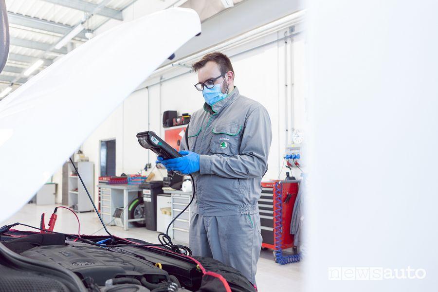 Estensione garanzia Škoda Coronavirus