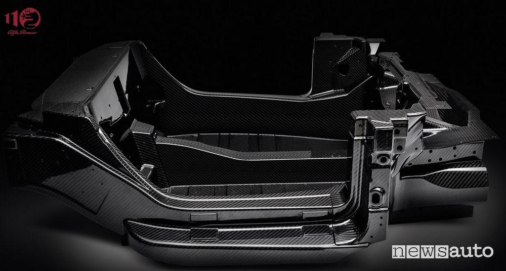 Culla in carbonio Alfa Romeo 4C, 2013