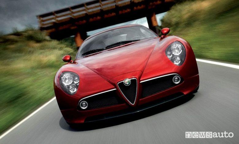Frontale Alfa Romeo 8C Competizione, 2006