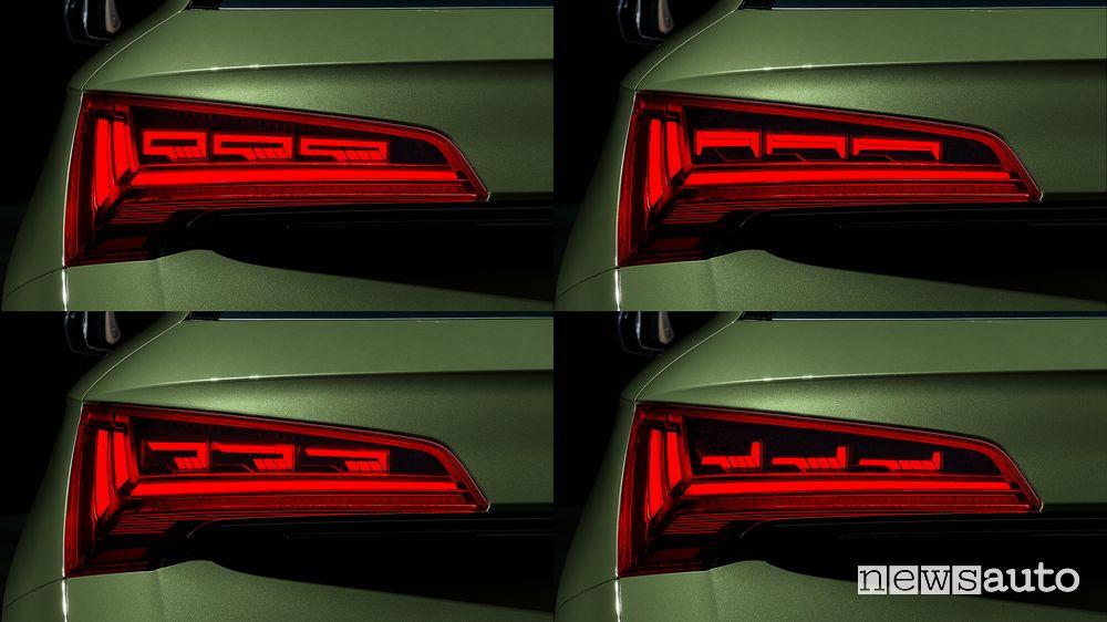 Fari posteriori con tecnologia OLED Audi Q5 2021