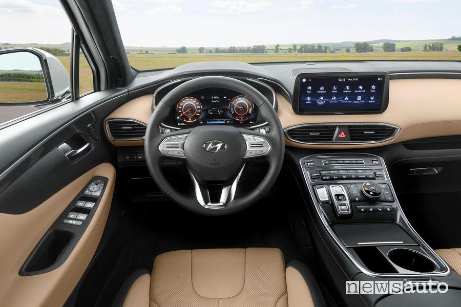 Plancia strumenti abitacolo Hyundai Santa Fe