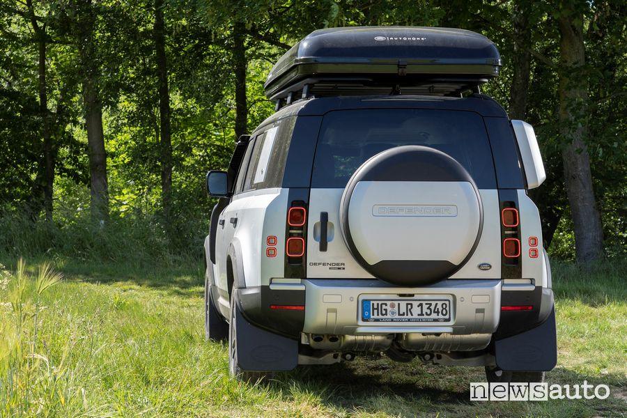 Tenda da tetto Autohome chiusa Land Rover Defender 110