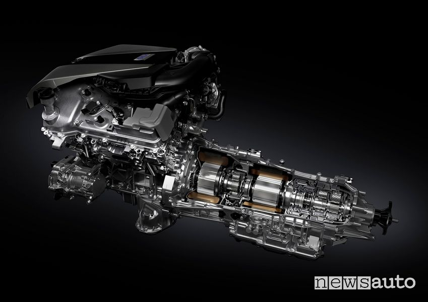 Cambio automatico Direct Shift a 10 velocità Lexus LC 500h