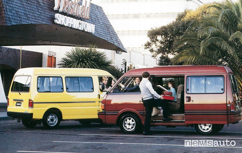 Mazda Bongo Traveller, 1984