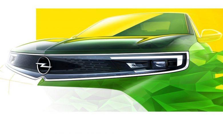 Opel Mokka Vizor frontale
