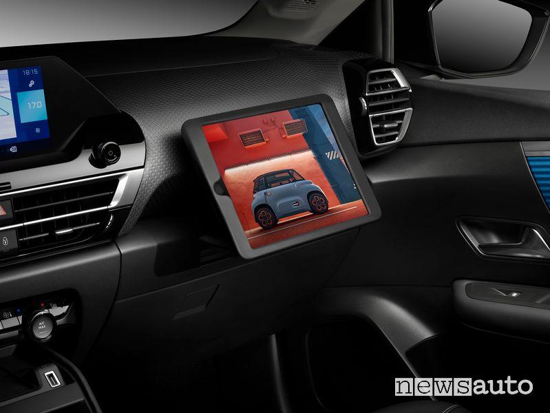 Smart Pad Support Citroën abitacolo nuova Citroën C4