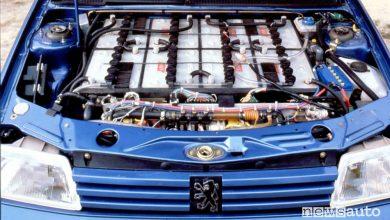 Photo of Auto storica elettrica, storia della Peugeot 205 Électrique
