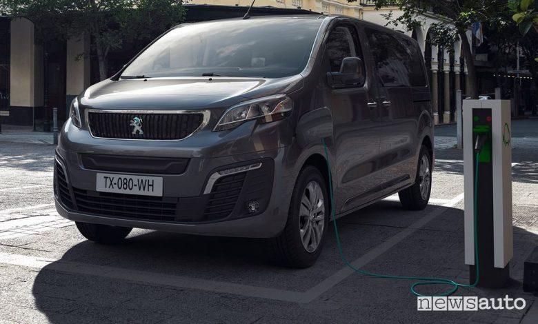 Peugeot e-Traveller elettrico
