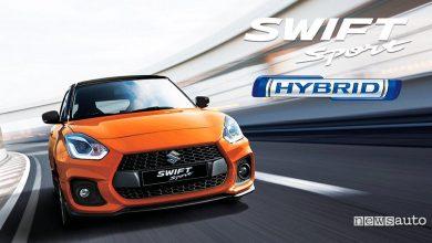 Photo of Suzuki Swift Sport Hybrid, nuovo motore 1.4 MHEV ibrido