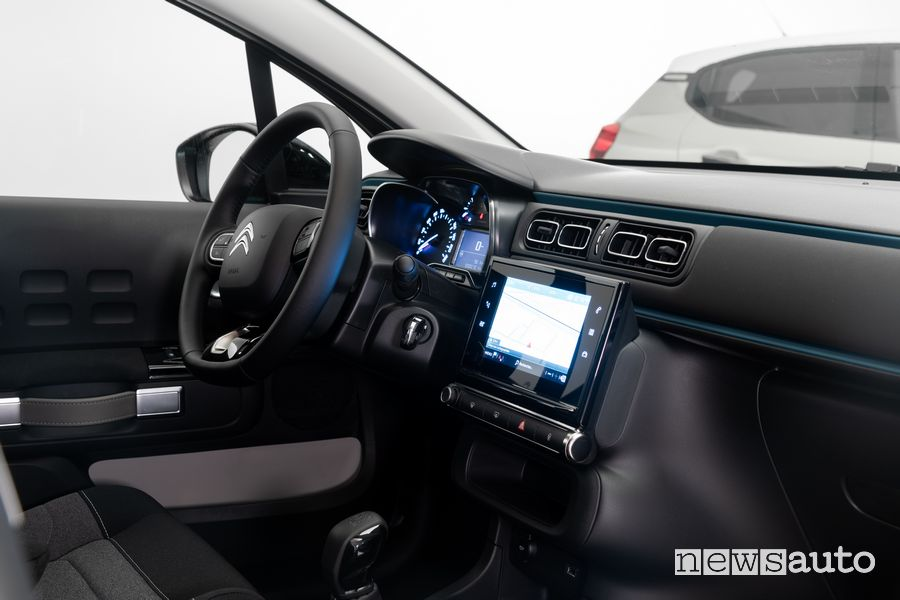 Touch Pad 7'' DAB abitacolo nuova Citroën C3