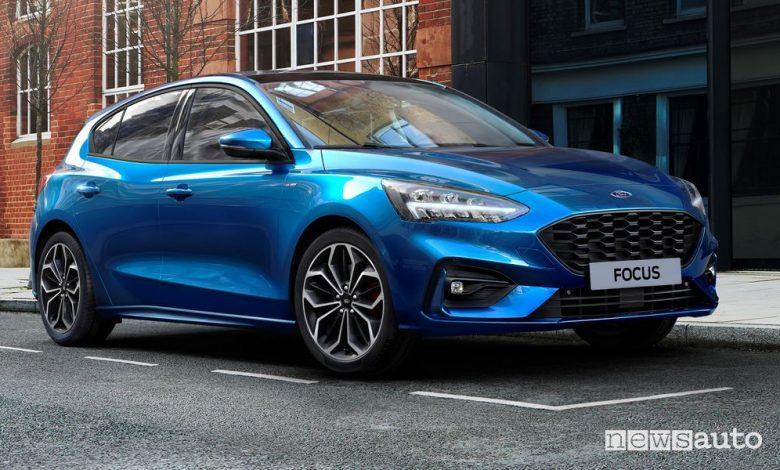 Ford Focus ibrida mild-hybrid MHEV