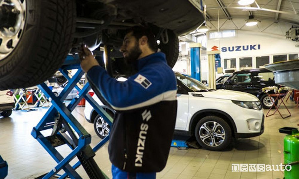 officina Suzuki check-up auto