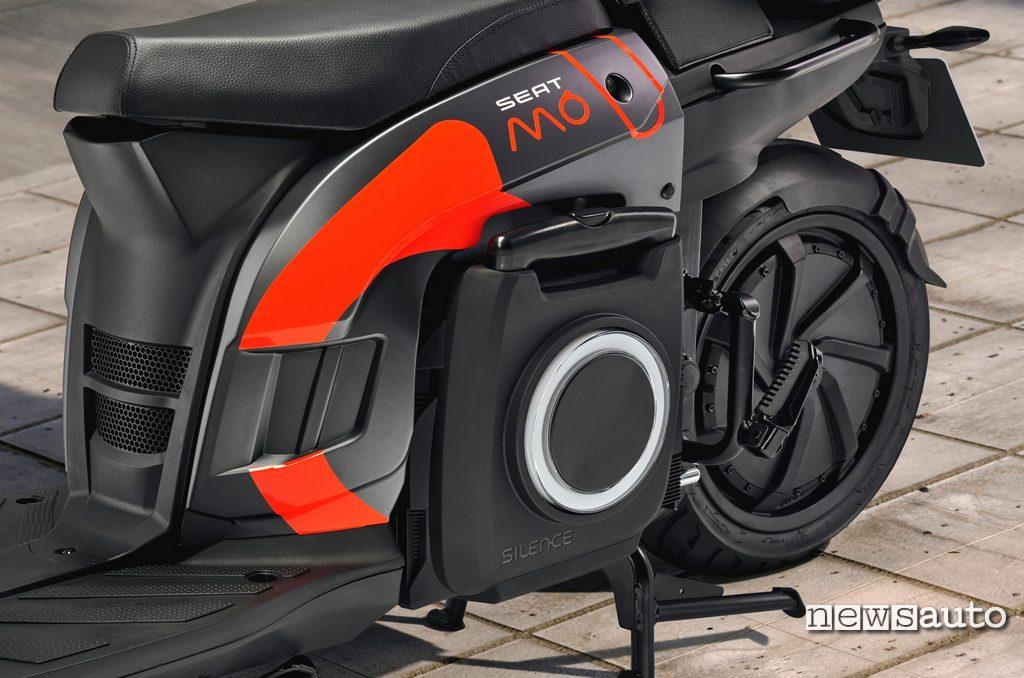 SEAT MÓ eScooter 2020 batteria removibile per la ricarica a casa