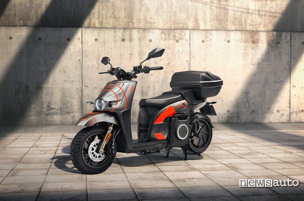 SEAT MÓ eScooter per servizi di sharing 2020