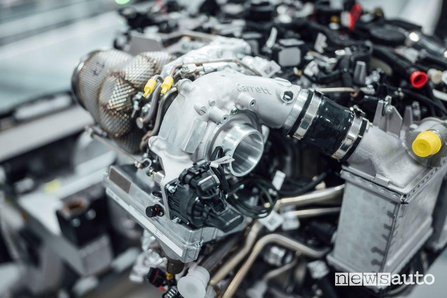 vantaggi turbo elettronico Mercedes-AMG