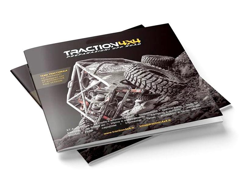 Catalogo accessori per la preparazione e manutenzione dei fuoristrada (Traction4x4)